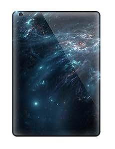Flexible Tpu Back Cases Covers For Ipad Air - Kaemira Nebula