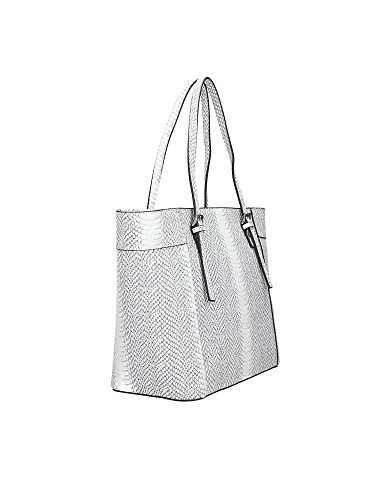 Guess Delaney Small Classic Tote Python