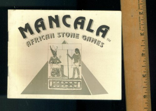 1990 HARDWOOD CREATIONS. MANCALA AFRICAN STONE GAMES. HISTORY AND DIRECTION BOOKLET. (Directions For Mancala)