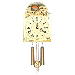 Original Eight Day Movement Special Cuckoo Clock with Beautiful Scene 11 Inch