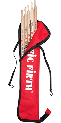 (Vic Firth Modern Jazz Collection 5-pair Stick Pack with Free Stick Bag)