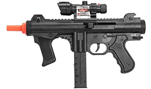 UKARMS CQB SMG Spring Airsoft Rifle Gun FPS 125