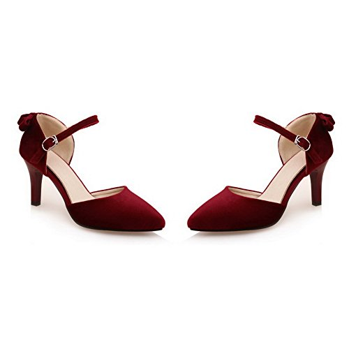 Red Femme 1TO9 Compensées Inconnu Sandales qwnXB1Iv