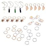 Best Hair Hoop With Roses - LIGONG 39 Pieces Hair Rings Hair Hoop Clips Review