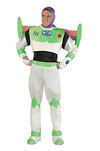 UHC Men's Disney Toy Story Buzz Lightyear Prestige Party Costume