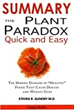SUMMARY The Plant Paradox Quick and Easy: The