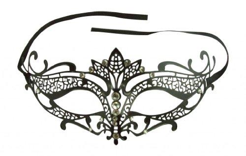 Kayso Inc K2004 Elegant Laser Cut Tiara Masquerade Mask