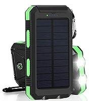 Solar Charger, Zonhood 25000mAh Power Ba...