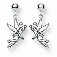 Disney Jewelry Tinker Bell Charm Earrings - Sterling Silver from Disney Jewelry