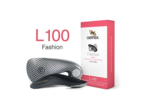 Aetrex Fashion Women's Orthotics, L100 Size 8
