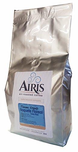 Panama Boquete Floreal Coffee, Casa Ruiz, Whole Bean, AIR ROASTED COFFEE by Airis Coffee Roasters (2.2lbs) (2.2 lbs)