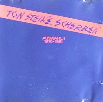 Ton Steine Scherben Auswahi 1970 1981 Amazoncom Music