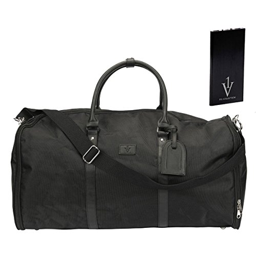 Convertible Garment Duffle Bag for Men|Mens Suit Travel Bags|With Powerbank by 1 Voice