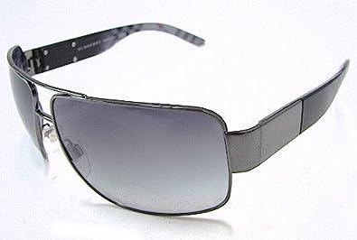 burberry men glasses z6fd  Burberry Mens BE3040 Gunmetal/Grey Sunglasses 61mm