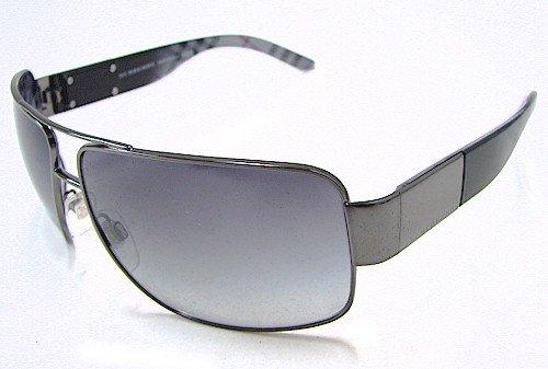 da79f349a369 BURBERRY 3040 Sunglasses Dark Grey Striped Grey Shaded 1057 11 Shades   Amazon.co.uk  Clothing