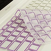 """NEW ARRIVAL! TopCase® PURPLE Silicone Keyboard Cover Skin for Macbook 13"""" 13.3"""" (1st Generation/A1181) with TOPCASE® Logo Mouse Pad"""