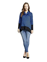 Maternal America Women's Maternity Layered Top