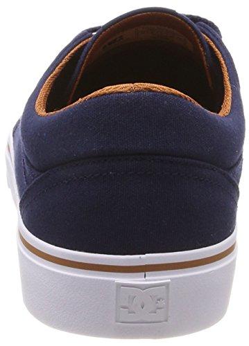 Uomo Nc2 Camel DC Shoes Trase Navy Sneaker TX Blu SqUIq8