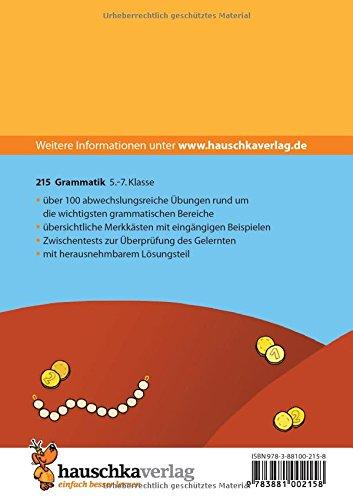 Grammatik 5. - 7. Klasse: Gerhard Widmann: 9783881002158: Amazon.com ...