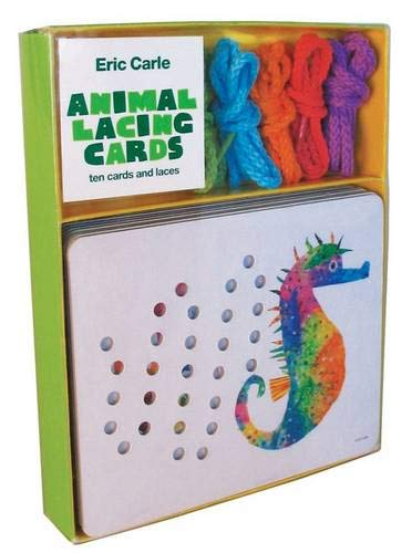 - Eric Carle Animal Lacing Cards: 10 Cards & Laces
