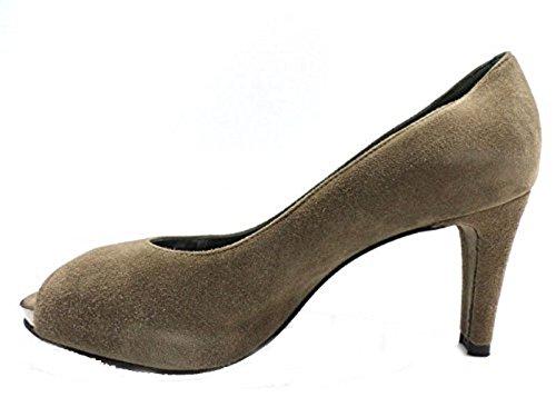 Zapatos Mujer STUART WEITZMAN 37,5 EU Zapatos de Salón tortora Gamuza WH955