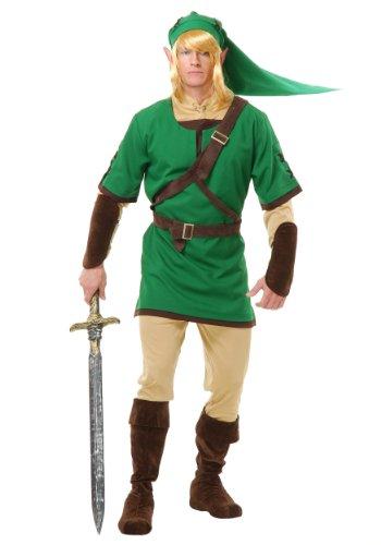 Zelda: Link the Elf Warrior Teen (Kids Elf Warrior Costumes)