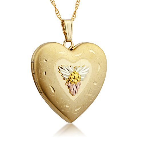 Black Hills Gold Large Heart Locket