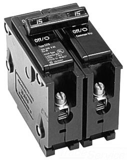 50a Type - Eaton BR250 Breaker, 50A, 2P, 120/240V, Type BR, 10 kAIC