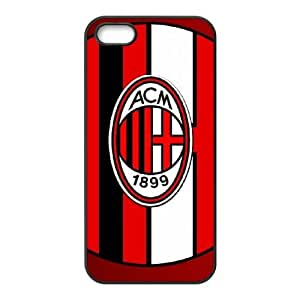 AC Milan iPhone 5 5s Cell Phone Case Black 8You254295