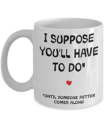 To My Boyfriend Mug - Rude Offensive Sarcastic Gift - Sarcasm Funny Fiance Valentine's Day Birthday Anniversary Best Lover Ever Coffee Cup Present For