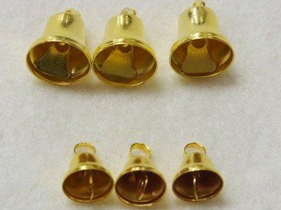 クリスマス・ベル ゴールド 金 5個 直径26mm 画像は比較見本です