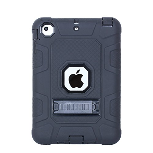 Silicone Clear Case for Apple iPad Mini 1/2/3 (Clear) - 6