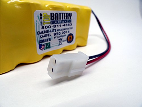 3PC 850.0014 Emergi-Lite/Kaufel by TOP BATTERY SOLUTIONS (Image #3)