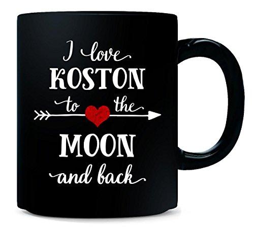 I Love Koston To The Moon And Back.gift For Girlfriend - Mug
