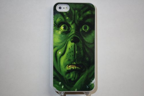 (513wi4) The Grinch Apple iPhone 4 / 4S White Case