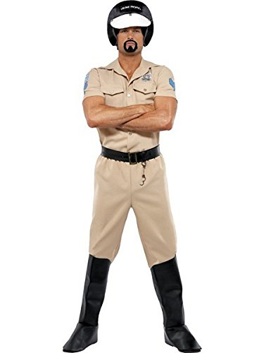 [Village People Motorcycle Cop (Standard)] (8 People Costumes)
