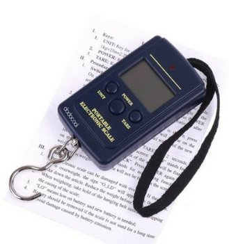 Mini Protable Digital Hanging Luggage Fishing Weight Scale capacity 20g40kg