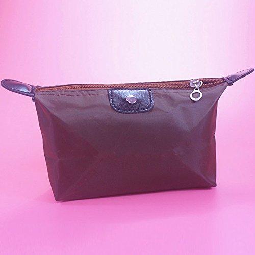 Unisex Kiicn Bag Folding Wholesale Black Wash Polyester Dumpling Storage tFfHqFA