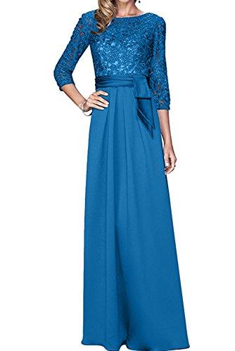 TOSKANA BRAUT - Vestido - trapecio - para mujer azul oscuro