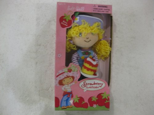 Hard To Find Strawberry Shortcake 9 Inches Soft Doll Angel Cake FRom Fun 4 All In 2003]()