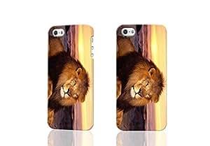 Lion King Custom Diy Unique Image Durable 3D Case Iphone 5 5S Hard Case Cover