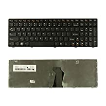 New Laptop keyboard for Lenovo IdeaPad G580 G580A G585 G585A P580 P585 N580 N581 N585 N586 V580 V585 Z580 Z580A Z585 Z585A US layout black color