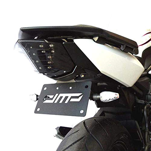 - DMP Yamaha 2009 2010 2011 2012 2013 2014 2015 2016 2017 FZ6R FZ6 Fender Eliminator Kit; Includes Turn Signals and Plate Lights - 675-6370 - MADE IN THE USA