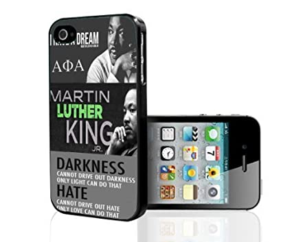 Black History Martin Luther King Jr  MLK Hard Snap on For