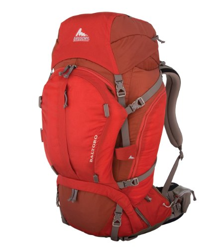 Gregory Baltoro 65 Technical Pack, Cinder Cone Red, Large, Outdoor Stuffs