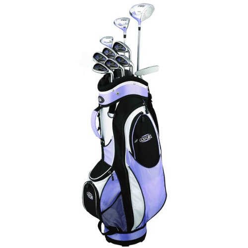 Golf Girl FWS2 LILAC Lady Hybrid Club Set & Cart Bag