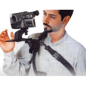 ビデオカメラスタンド ハンズフリーショルダーパッド FS-HFSP