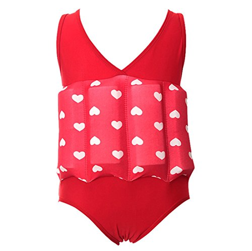 Float Suit - Baby Kids Girls One Piece Swimsuit Buoyancy Bathing Suit Float Suit Swimwear