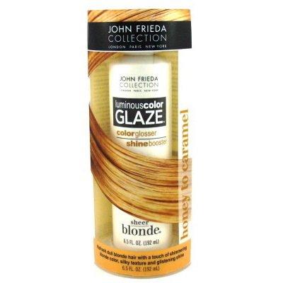 John Frieda Sheer Blonde Luminous Color Glaze, Honey to Caramel 6.5 oz (192 ml) Kao Brands Company