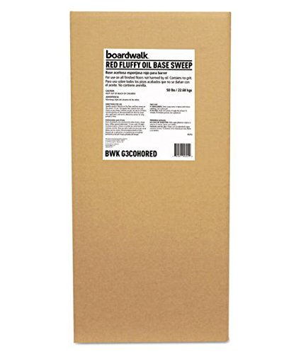 BWKG3COHORED - Boardwalk Oil-based Sweeping Compound, Grit-free, 50lbs, Box